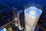 北京市最高的地标建筑-中国尊  安装西奥多电热天花风幕机